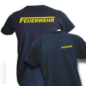 T-Shirt mit Feuerwehrlogo