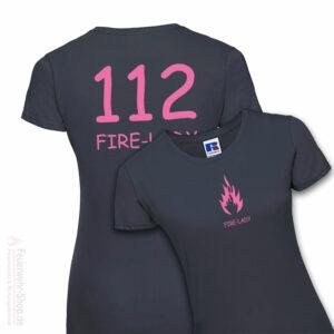 Damen Premium T-Shirt Modell Firelady