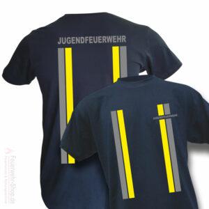 Jugendfeuerwehr Premium T-Shirt im Einsatzlook
