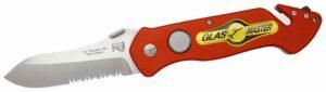 Rettungsmesser GLASMASTER Pocket Rescue Tool II