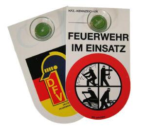 Kennzeichngsschild Feuerwehr DFV