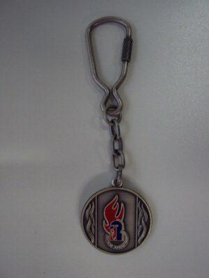 Schlüsselanhänger Jugendfeuerwehr-Signet Metall