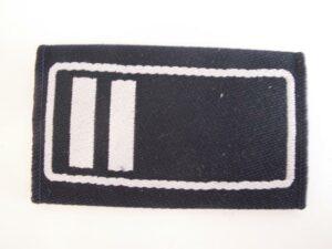 Schulterschlaufen 1 Paar Dienstgrad Brandoberinspektor (BOI)