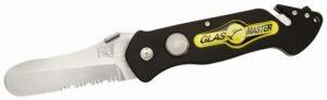 Rettungsmesser GLASMASTER Pocket Rescue Tool PRT IV ( Polizeimesser)
