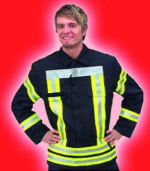 """Feuerwehr Einsatzjacke Firefighter """"HuPF Teil 3"""""""
