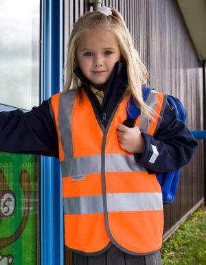 Junior-Safety Kinderwarnweste -0