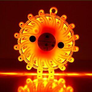 Warnblitzer / Powerflare orange, Batteriebetrieb