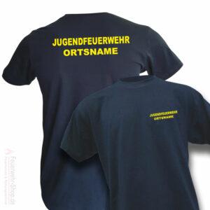 Jugendfeuerwehr Premium T-Shirt Basis mit Ortsname