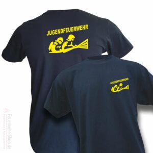 Jugendfeuerwehr Premium T-Shirt Firefighter III