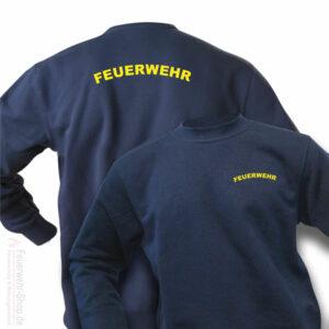 Feuerwehr Premium Pullover Rundlogo