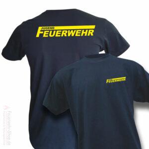Jugendfeuerwehr Premium T-Shirt Logo