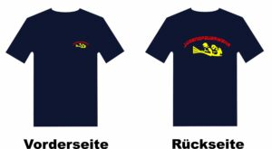 Jugendfeuerwehr T-Shirt mit Motiv Firefighter IIII