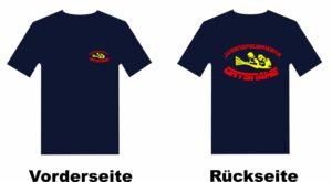 Jugendfeuerwehr T-Shirt mit Motiv Firfighter IIII mit Ortsnamen