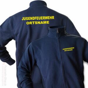 Jugendfeuerwehr Premium Sweatjacke Basis mit Ortsnamen