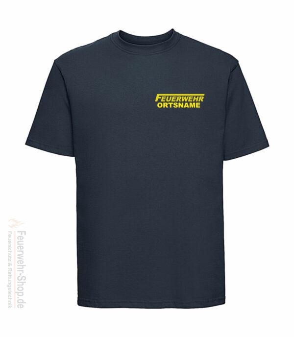 Feuerwehr Premium T-Shirt Logo mit Ortsname