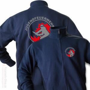 Jugendfeuerwehr Premium Sweatjacke Firefighter I
