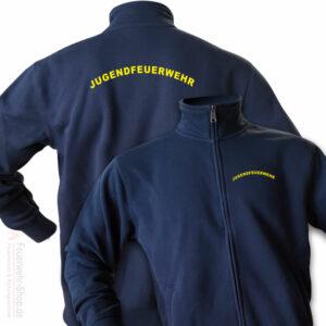 Jugendfeuerwehr Premium Sweatjacke Rundlogo