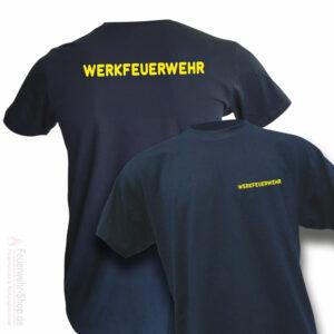 Feuerwehr Premium T-Shirt Werkfeuerwehr I