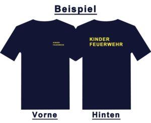 Kinderfeuerwehr Premium T-Shirt Basis -0