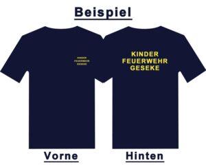 Kinderfeuerwehr Premium T-Shirt Basis mit Ortsnamen-0