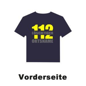 Kinderfeuerwehr T-Shirt Firefighter II mit Ortsnamen