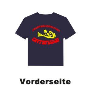 Kinderfeuerwehr T-Shirt Firefighter IIII mit Ortsnamen