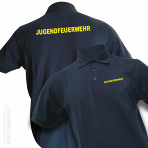 Jugendfeuerwehr Premium Poloshirt Basis