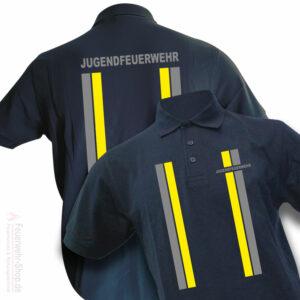 Jugendfeuerwehr Premium Poloshirt im Einsatzlook