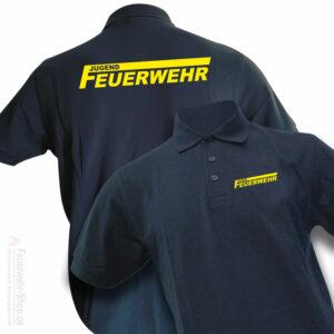 Jugendfeuerwehr Premium Poloshirt Logo