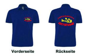 Jugendfeuerwehr Poloshirt mit Motiv Firfighter IIII mit Ortsnamen