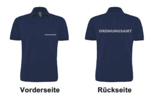 Ordnungsamt Poloshirt Modell Basis