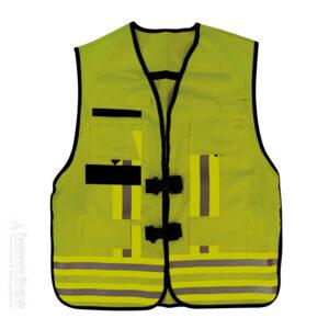 Funktions-Kennzeichnungs-Weste, gelb gemäß EN 471 / EN 531