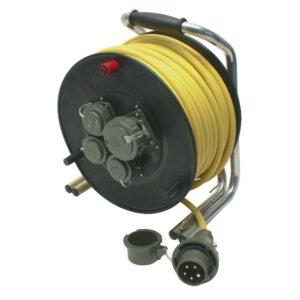 Leitungsroller THW 230 V/400 V, 16 A, 50m