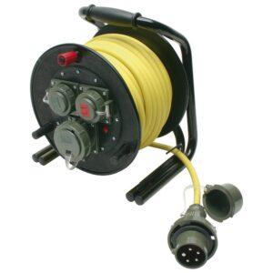 Leitungsroller THW 230 V/400 V, 16 A, 25 m