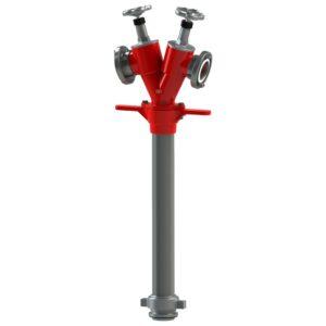 AWG Hydrantenstandrohr DIN 14375, DN 80, Standard