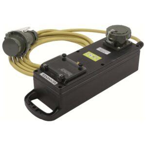Adapterleitung THW 400 V, 16 A auf 32 A, 5 m
