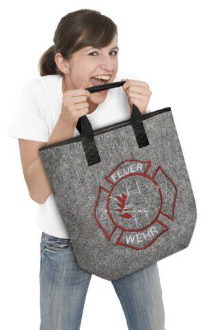 Shopper Tasche Bag Feuerwehr