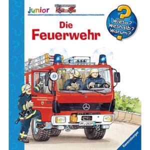 Kinderbuch Ravensburger www junior Die Feuerwehr -0