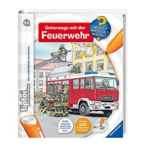 Kinderbuch Ravensburger tiptoi®: www Unterwegs mit der Feuerwehr -0