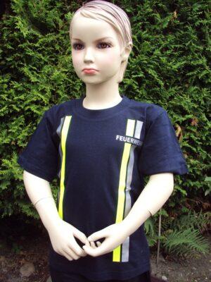 Kinderfeuerwehr T-Shirt im Einsatzlook