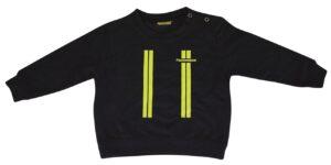 Kinderfeuerwehr Premium Pullover im Einsatzlook gelb-0