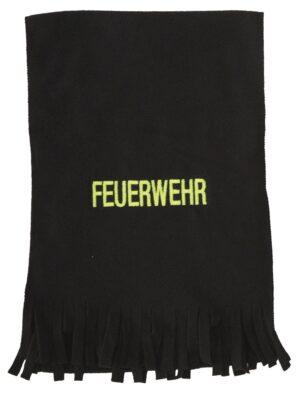 Fleece-Schal mit Feuerwehr bestickt-0