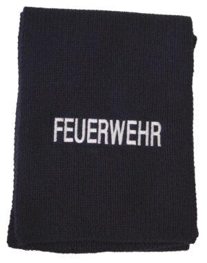 Woll-Schal mit Feuerwehr bestickt-0