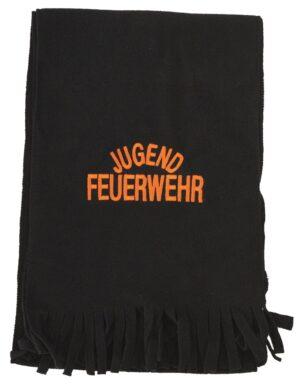Fleece-Schal mit Jugendfeuerwehr bestickt-0