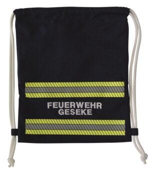 """Turnbeutel im neuen """"Feuerwehr Design"""" mit individueller Bestickung-0"""