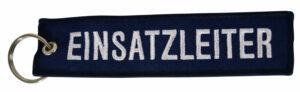 """Stoffschlüsselanhänger """"Einsatzleiter"""""""