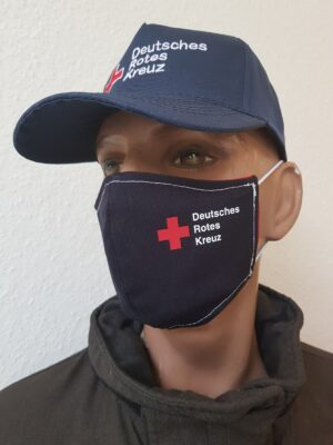 Mund-Nasenmaske Mundschutz DRK 2020