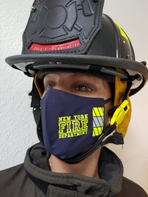 Mund-Nasenmaske Facemask New York Fire Department FDNY Limited Edition