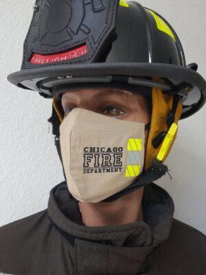 Mund-Nasenmaske Chicago Fire Department CFD Limited Edition Mundschutz