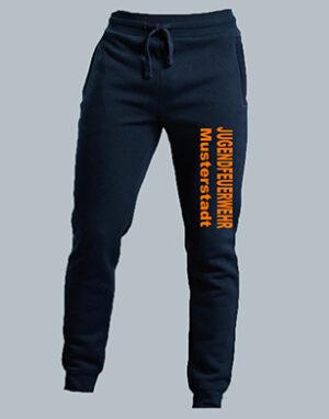 Jugendfeuerwehr Jogginghose Unisex mit Wunschtext-0
